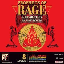 prophets of rage milano