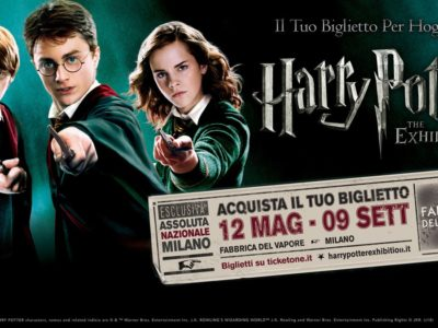harry potter milano