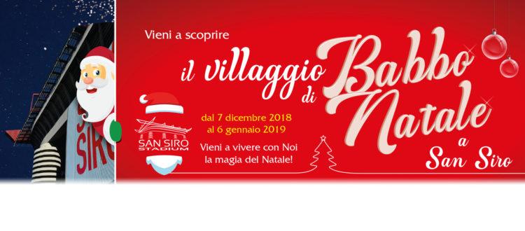 Il Villaggio di Natale a San Siro